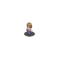 Yuna's Summoner sprite in <i><a href=