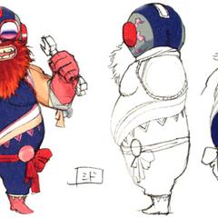 Akira Oguro concept artwork of Cid (3D).