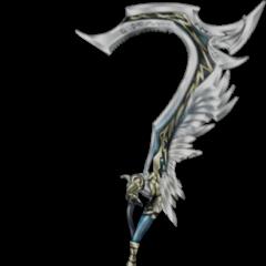 Lightning's Zantetsuken swords connected.