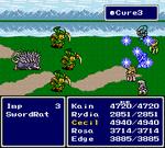 FFIV SNES Cure3