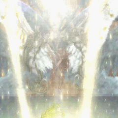 Zodiark using Final Eclipse in <i>Final Fantasy Tactics A2: Grimoire of the Rift</i>.