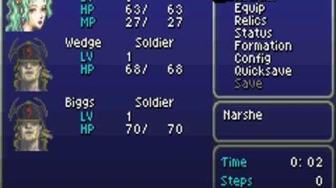 Final Fantasy VI Advance Glitch Resetting Character Levels