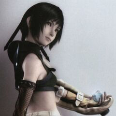 Yuffie's original outfit for the <i>Final Fantasy VII Anniversary</i>.