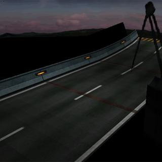 <i>Final Fantasy VII</i> Highway battle background.