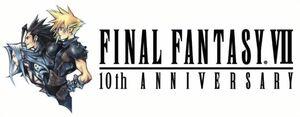 Logo Kỉ niệm 10 năm Final Fantasy VII