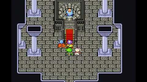 Final Fantasy IV SNES - 64 Door Hierarchy Glitch (English)