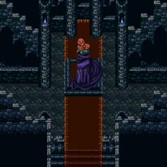 Inside Darill's Tomb (SNES).