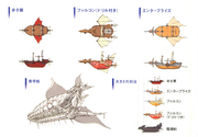 FFIV DS Airships