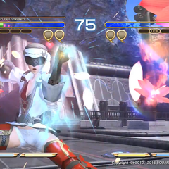 Yda using Fists of Fire Limit Break.