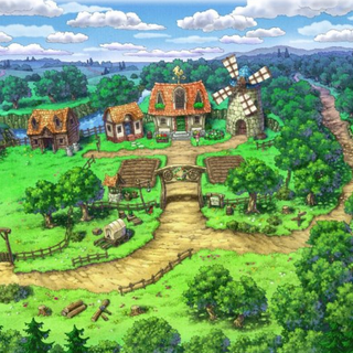 Concept art of Stella Ranch.