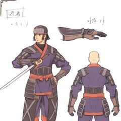 Ninja concept art.