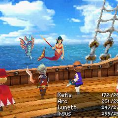 Salamand Sword in <i>Final Fantasy III</i> (DS).