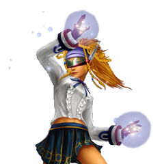 Rikku as a Psychic.