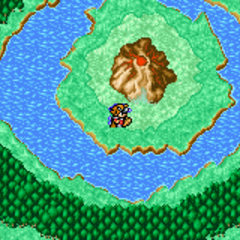 Mount Gulg on the World Map (GBA).