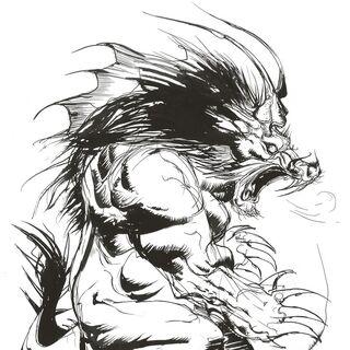 Artwork by Yoshitaka Amano.