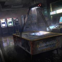 Concept art of an arcade.