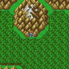 The North Mountain on Bartz's World (GBA).