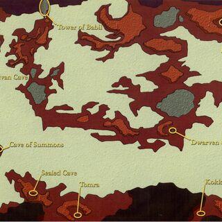 Underworld Map.