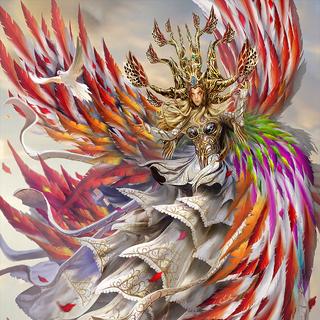 Ultima, the High Seraph artwork.