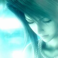 Lucrecia in <i>Dirge of Cerberus -Final Fantasy VII-</i>.