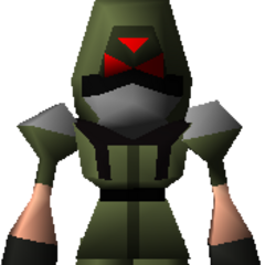 Green troop from <i>Final Fantasy VII</i>.