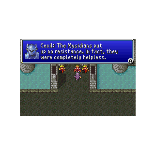 Cecil describing the character of the raid