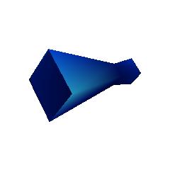Blue M-Phone