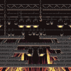 Battle background (rafters) (GBA).