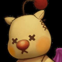 Yuna's Mascot portrait.