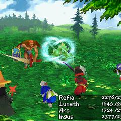 Wind: Wind Slash (DS).