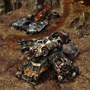 Corel prison junkyard