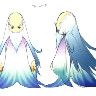 Akira Oguro concept art of Fusoya (DS).