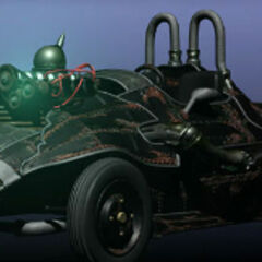 A Shinra Manufacturing Works vehicle in <i><a href=