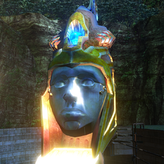 The fal'Cie statue.