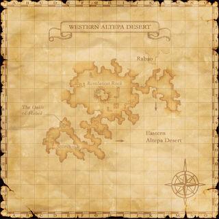 A map of Western Altepa Desert.