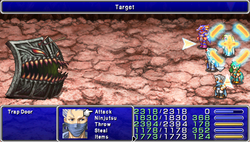 FF4PSP Enemy Ability Target