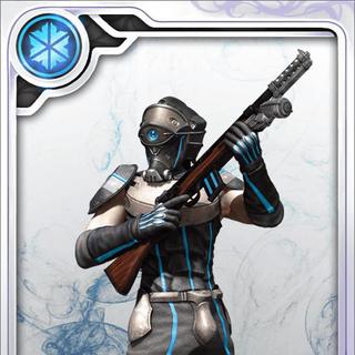 A Rank N Deepground Soldiers card in <i>Final Fantasy Artniks</i>.