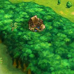 Village on the world map.