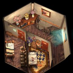 Aeris's House 2F.