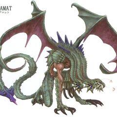 Concept artwork of Tiamat.