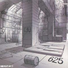 Warehouse concept art.