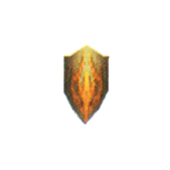 Flame Shield in <i>Final Fantasy IV</i> (DS).