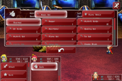 FFVI Android Equip In-Battle Menu