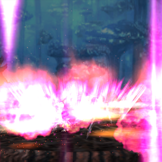 Kuja ends the battle with Ultima.