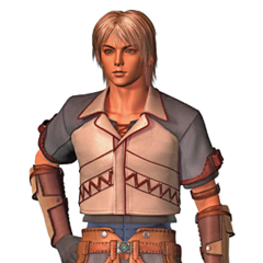 CG render of Firion for the opening FMV of <i>Final Fantasy Origins</i>.