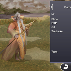 Ramuh in the iOS version.