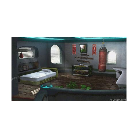 Zell's room.