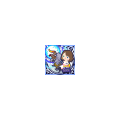 Grand Summon (Thor's Hammer) in <i>Final Fantasy Airborne Brigade</i> (SSR Legend).
