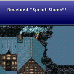 Unobtainable Sprint Shoes (SNES).