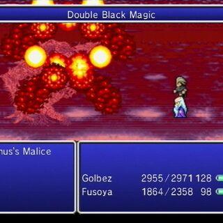 Double Black Magic - Twin Firaga.